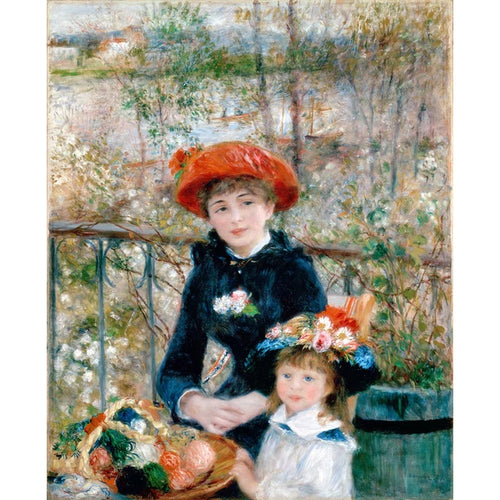 Two Sisters (On The Terrace) - August Renoir 5D DIY Paint By Diamond Kit