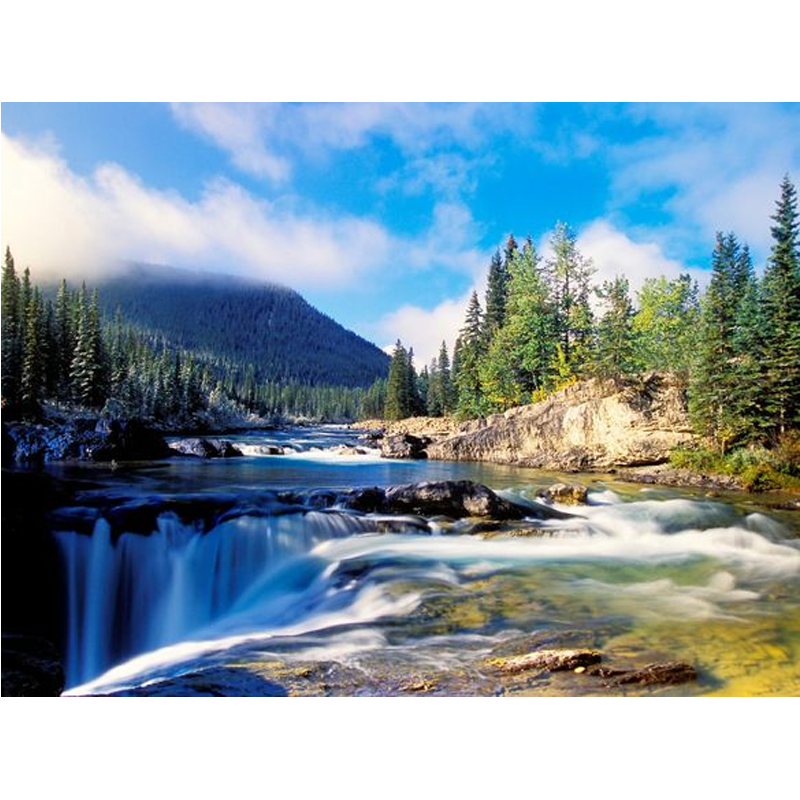 Landscape Streaming River 5D DIY Paint By Diamond Kit
