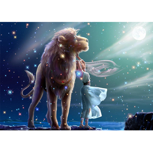 Dog Sees Constellations 5D DIY Paint By Diamond Kit - Paint by Diamond