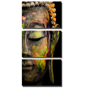 3pcs Abstract Buddha 5D DIY Paint By Diamond Kit