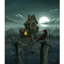 Dark NIght - Halloween 5D DIY Paint By Diamond Kit