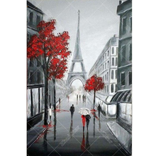 Paris Street 5D DIY Paint By Diamond Kit