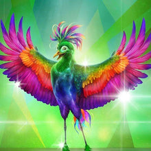 Green Chicken 5D DIY Diamond Painting