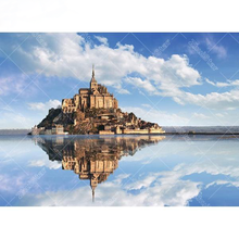 Castle in Water 5D DIY Paint By Diamond Kit