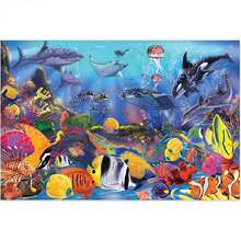 Sea Fish World 5D DIY Paint By Diamond Kit