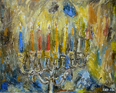 Last Night of Chanukah by David Brook