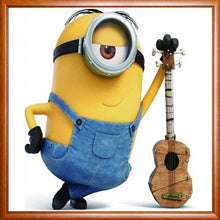 Stuart The Minion With Guitar 5D DIY Paint By Diamond Kit - Paint by Diamond