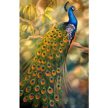 Peacock Embroidery 5D DIY Paint By Diamond Kit - Paint by Diamond