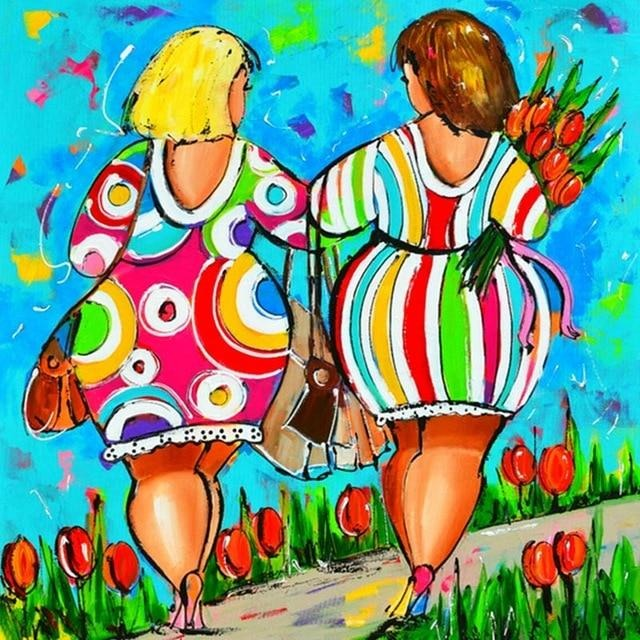 Tulip Women 5D DIY Paint By Diamond Kit - Paint by Diamond