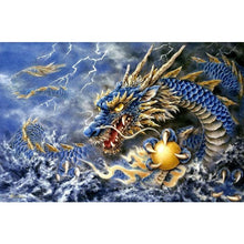 Fierce Dragon 5D DIY Paint By Diamond Kit - Paint by Diamond