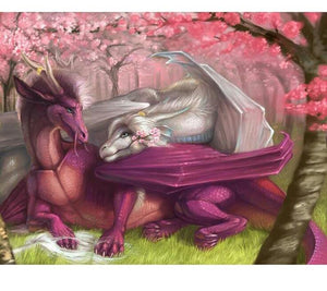 Love Dragon 5D DIY Paint By Diamond Kit