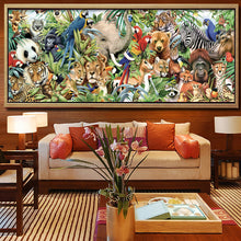 Zoo Animals 5D DIY Paint By Diamond Kit - Paint by Diamond