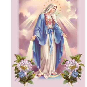Mother Mary Blessings 5D DIY Paint By Diamond Kit - Paint by Diamond