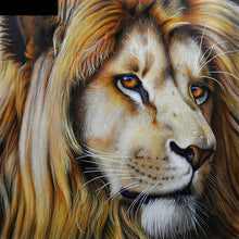 Lion Embroidery Cross Stitch 5D DIY Paint By Diamond Kit
