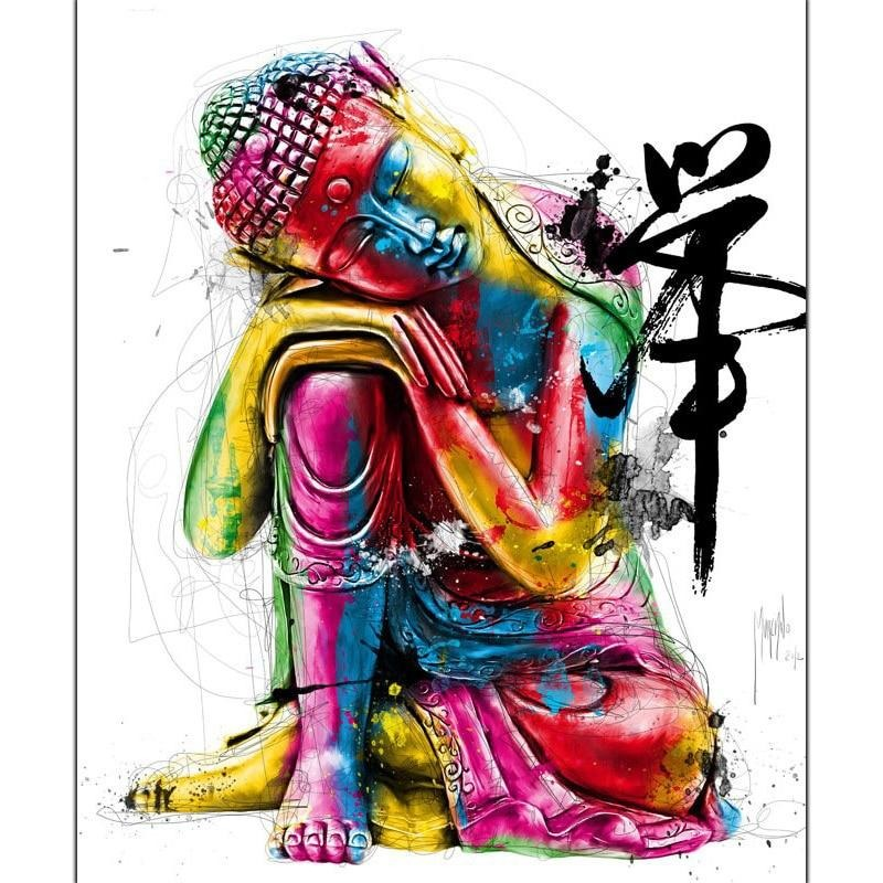 Buddha Colorful Religion 5D DIY Paint By Diamond Kit - Paint by Diamond