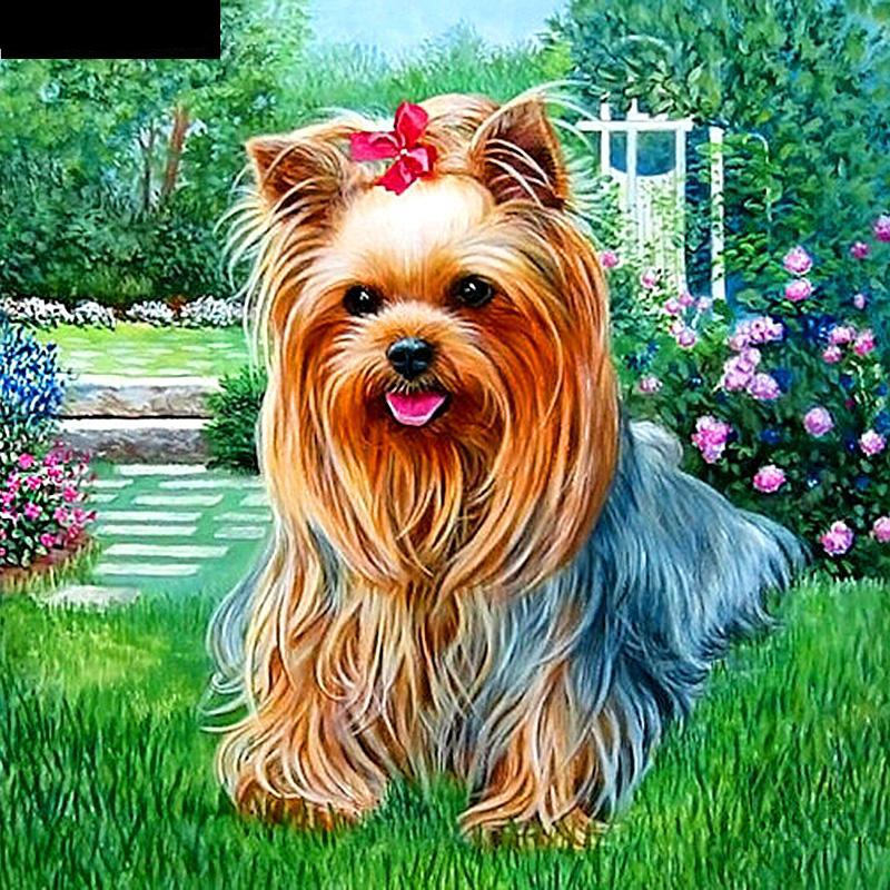 Pet Dog 5D DIY Paint By Diamond Kit