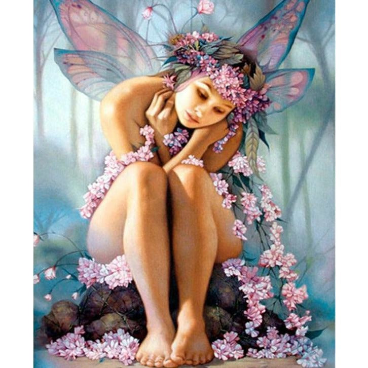 Butterfly Fairy 5D DIY Paint By Diamond Kit - Paint by Diamond