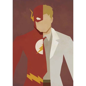Cartoon Lightning Superhero 5D DIY Paint By Diamond Kit