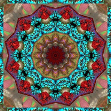 Colorful Religion Mandala 5D DIY Paint By Diamond Kit - Paint by Diamond