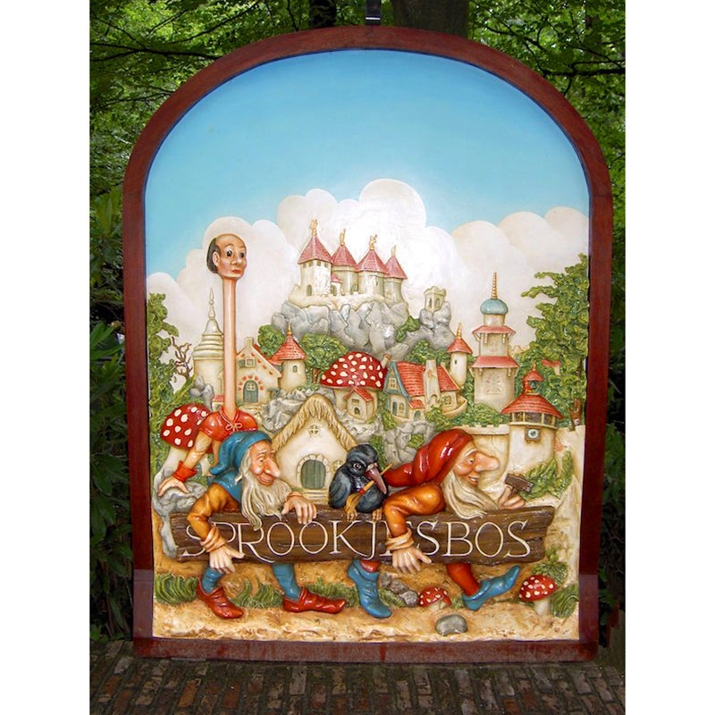 Efteling Park 5D DIY Paint By Diamond Kit