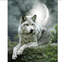 Wolf Animal 5D DIY Paint By Diamond Kit