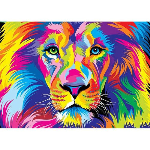 Colorful Animals 5D DIY Paint By Diamond Kit - Paint by Diamond