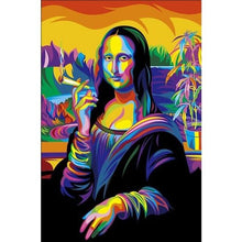 Colorful Mona Lisa 5D DIY Paint By Diamond Kit - Paint by Diamond