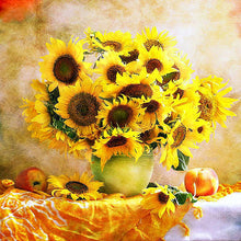Sunflower 5D DIY Paint By Diamond Kit - Paint by Diamond