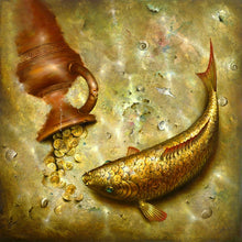 Gold Fishes 5D DIY Paint By Diamond Kit
