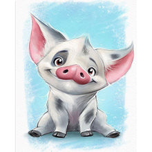 Cartoon Pig 5D DIY Paint By Diamond Kit