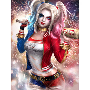 Cartoon Harley Q 5D DIY Paint By Diamond Kit - Paint by Diamond