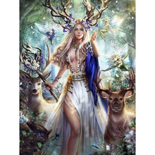 Beauty & The Deer 5D DIY Paint By Diamond Kit - Paint by Diamond