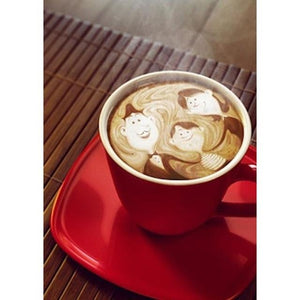Beautiful Family Coffee Cup 5D DIY Paint By Diamond Kit - Paint by Diamond