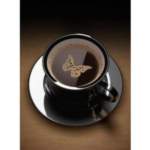 Butterfly Black Coffee - 5D DIY Paint By Diamond Kit - Paint by Diamond