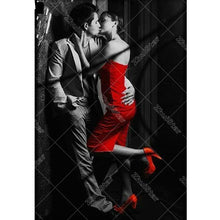 Kissing couple 5D DIY Paint By Diamond Kit