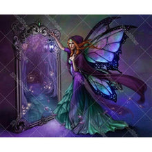Magic Wings Girl 5D DIY Paint By Diamond Kit
