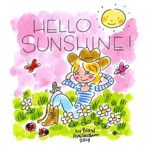 Hello Sunshine Paint By Diamond Kit