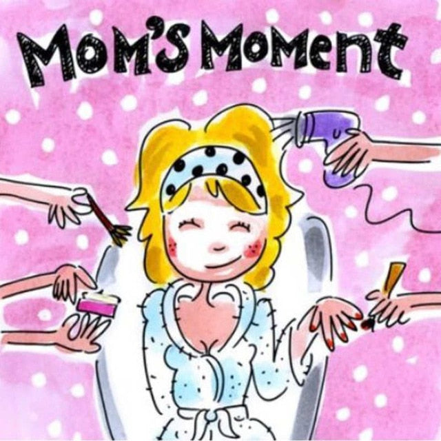Mom's Moment Paint By Diamond Kit - Paint by Diamond