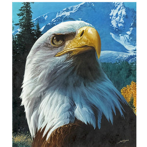 Eagle Animal 5D DIY Paint By Diamond Kit