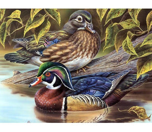 Duck 5D DIY Paint By Diamond Kit