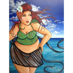 Beauty At The Beach 5D DIY Paint By Diamond Kit - Paint by Diamond