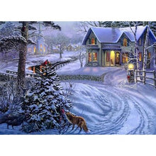 Winter Pathways 5D DIY Paint By Diamond Kit - Paint by Diamond