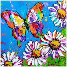 Cartoon Colorful Butterfly 5D DIY Paint By Diamond Kit - Paint by Diamond