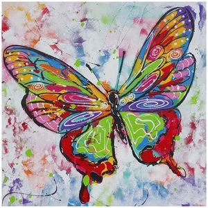 Watercolour Butterfly 5D DIY Paint By Diamond Kit - Paint by Diamond