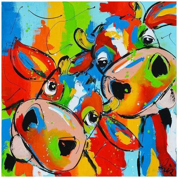 Cartoon Colorful Animal 5D DIY Paint By Diamond Kit - Paint by Diamond