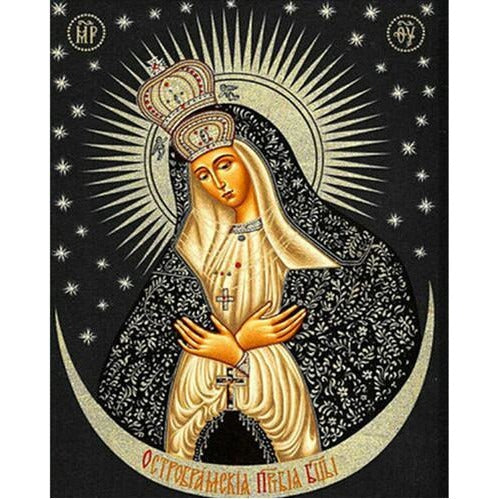 Russian Religious Goddess 5D DIY Paint By Diamond Kit - Paint by Diamond