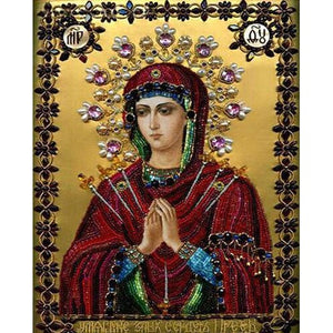 Mother Mary Praying 5D DIY Paint By Diamond Kit - Paint by Diamond