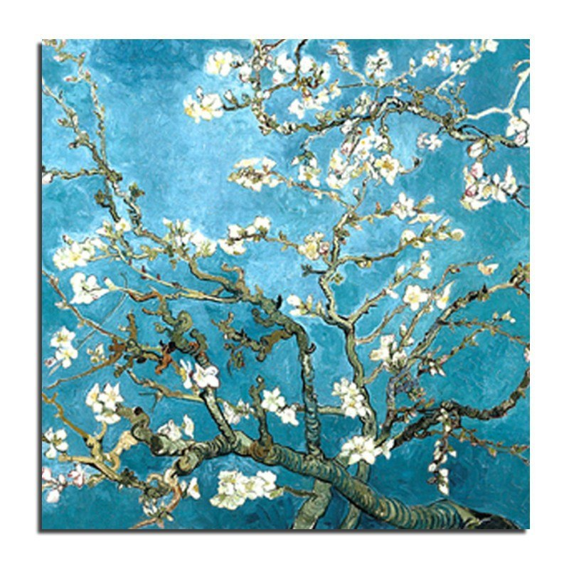 Van Gogh Flower 5D DIY Paint By Diamond Kit - Paint by Diamond