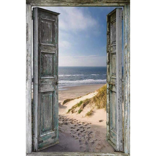 Outdoor Scenic Beach 5D DIY Paint By Diamond Kit - Paint by Diamond