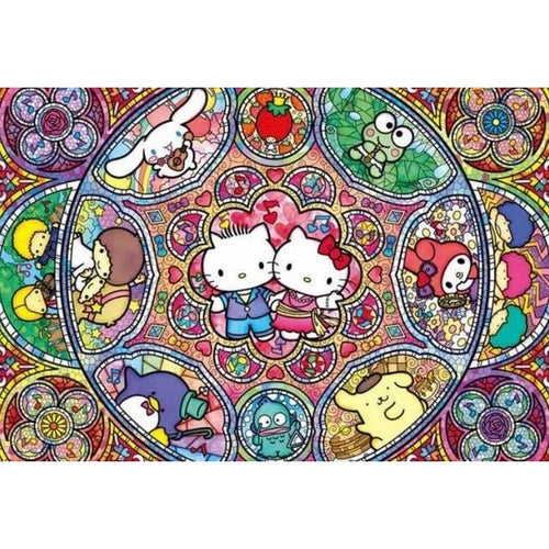 Hello Kitty Cartoon Character 5D DIY Paint By Diamond Kit - Paint by Diamond